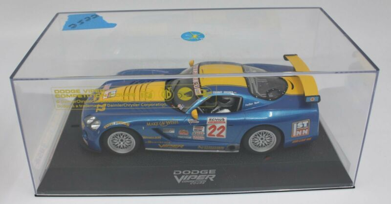 Scalextric #22 1:32 Dodge Viper Competition Coupe Slot Car
