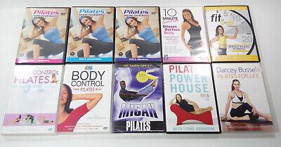 Pilates Workout 10 x DVD Bundle Exercise Fitness