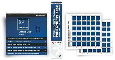 New - Pantone Color Of The Year - Set Color Guide Color Chips Booklet