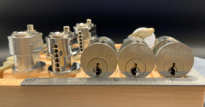 High Security 6-pin BX Safe Deposit Lock w/1 Key. Locksport
