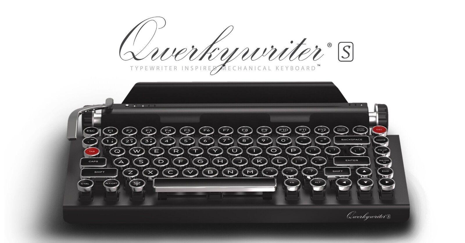 QWERKYWRITER S TYPEWRITER-INSPIRED MECHANICAL KEYBOARD