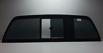 Fits: 2002-2009 Dodge Ram 1500 2500 3500  Slider Back Glass  Flush Fit (manual)