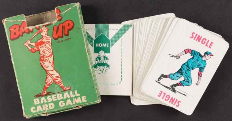 1949 Batter Up Baseball Diamond Card Game