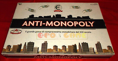 ANTI-MONOPOLY (Monopoli) Gioco in Scatola University Games 2009 - COMPLETO - GP