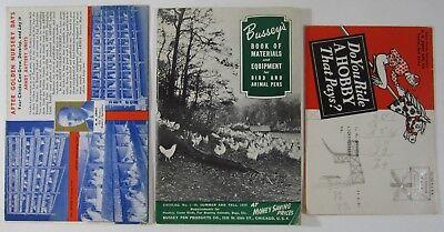 Vtg Poultry Equipment Advertising Catalogs Arndt Raising Chickens Egg Hens 1937