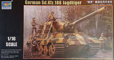 TRUMPETER® 00923 German Sd.Kfz.186 Jagdtiger in 1:16