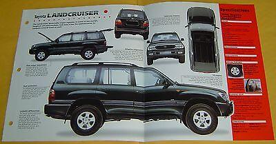 1998 1999 2000 Toyota Landcruiser Amazon V8 4664cc EFI IMP Info/Specs/photo 15x9
