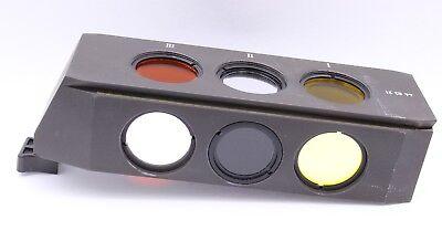 Zeiss Axioskop Fluorescence Slider 446321 3fl Axioline Uv Blue Fitc Dapi Tritc