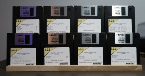 Ensoniq ASR-10 8 Disk Library Set Original Factory Sounds with Demos Floppy Disk