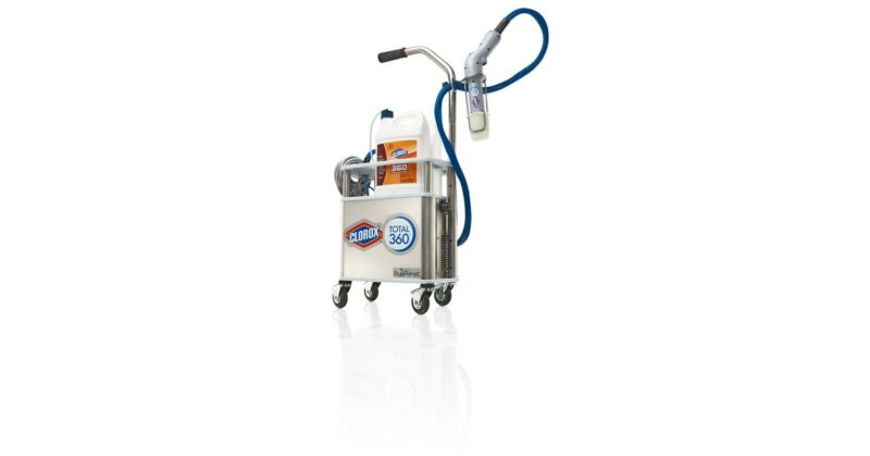 NEW CLOROX TOTAL 360 System Electrostatic Sprayer for disinfectant cleaner