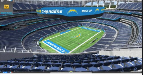 1 Tix New England Patriots @Los Angeles Chargers Halloween Game 10/31/21