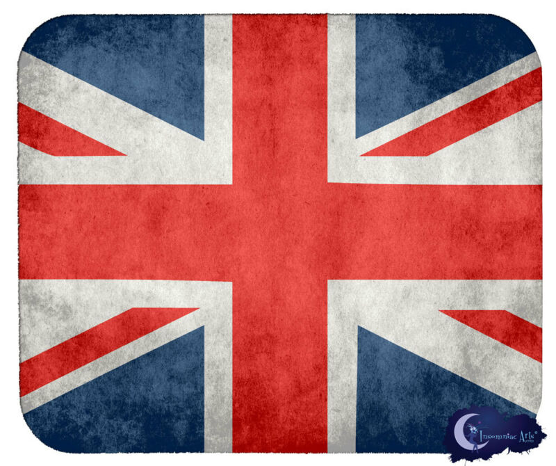 Union Jack Mousepad, British Flag Mouse Pad, United Kingdom Mouse Pad