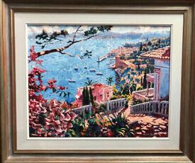 Hazel Soan Oil on Canvas Artwork Framed