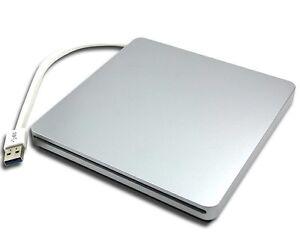 New Portable Ultra Slim External Slot USB 3.0 SuperDrive Blu-ray Player
