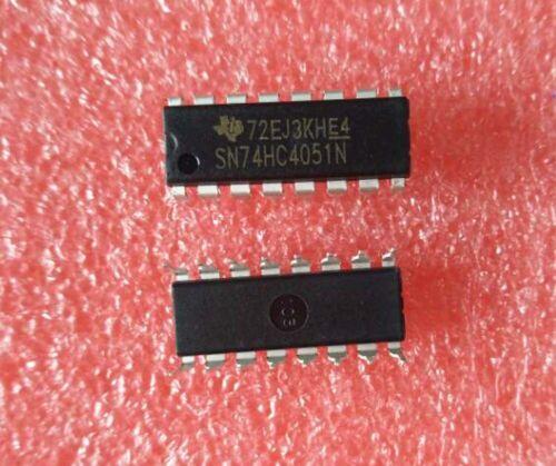 50PCS New SN74HC4051N 74HC4051 4051 IC DIP-16