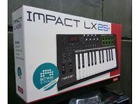 Nextar LX -25+ keyboard MPC PADS
