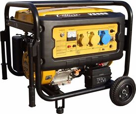 Generator 6KVA just over a year old electric start and pull start 110 and 240 and 12v dc