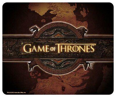 Game of Thrones - Mauspad Mausmatte - Landkarte Logo - 23 x 19 cm