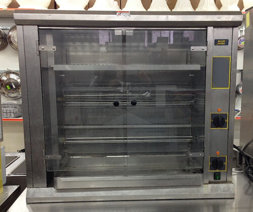 Equipex Sodir RBE8 3PH Electric Rotisserie Roaster