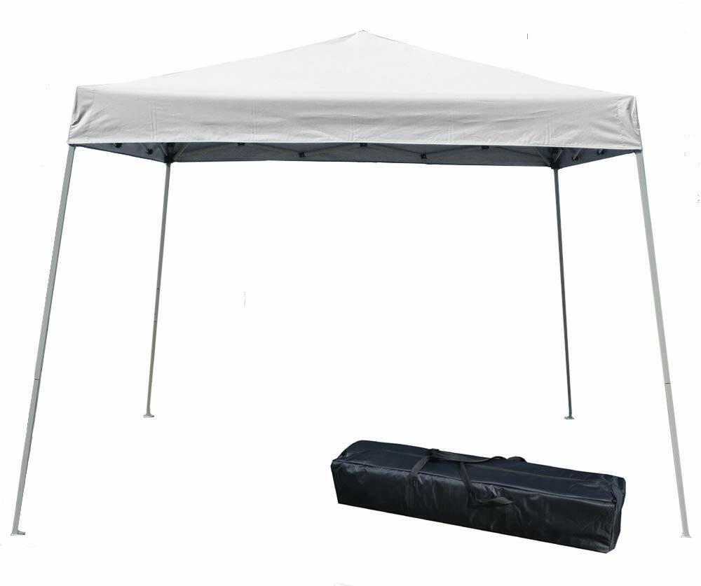10'x10' EZ Pop Up Canopy Outdoor Slant Leg Wedding Party Ten