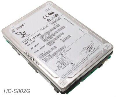 ST32151WC, Seagate Hawk 2XL 2.15GB SCSI 80-Pin 3.5-inch Internal Hard Drive 80pin Scsi Internal Hard Drive
