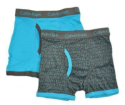 Calvin Klein Boys 2 Pack Boxer Briefs Size 16/18