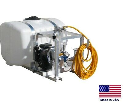 Sprayer Commercial - Skid Mounted - 6 Gpm - 290 Psi - 5 Hp - 100 Gallon Tank