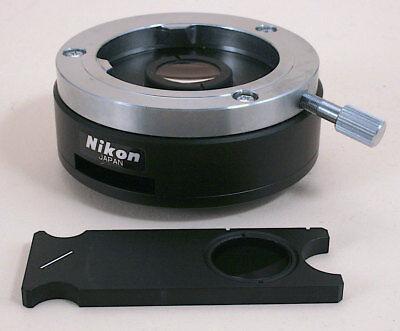 Nikon Microscope Intermediate Pol Module With Analyzer Slider