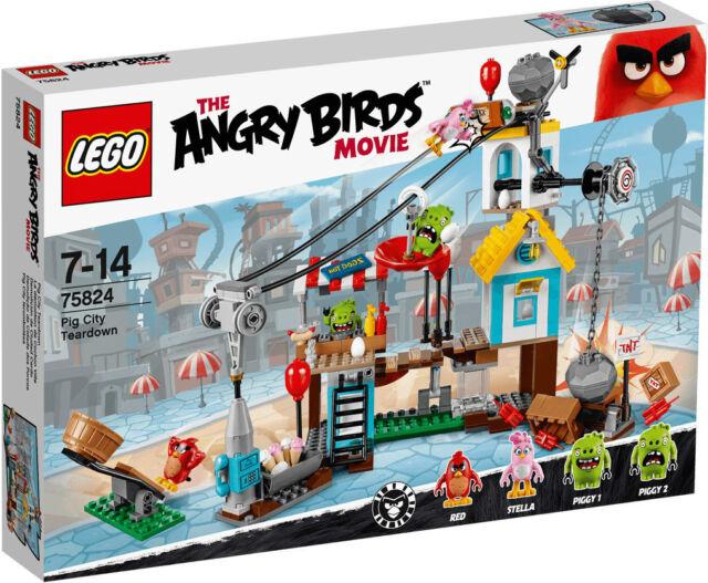 LEGO ANGRY BIRDS-Pig City Teardown 75824 * IN STOCK *