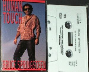BRUCE-SPRINGSTEEN-HUMAN-TOUCH-CASSETTE-SINGLE