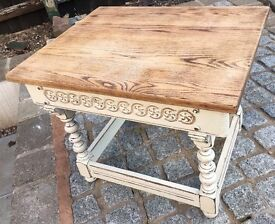 Old charm side table coffee table
