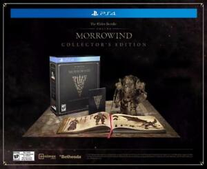 The Elder Scrolls Online Morrowind Collector's Edition - PlayStation 4