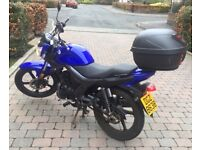 Motorbike 125cc - AJS Eco-3 (22 Nov 2016) – Low Miles – Top box – Excellent cond. – Learner/Commuter