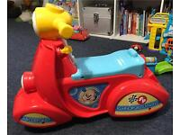 Fisher price musical ride on scooter