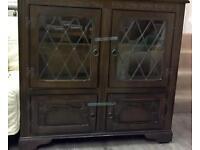Dark wood cabinet G34