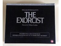 The Exorcist Collectors Special Limited edition box set VHS and book 1973.