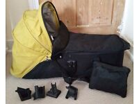 Phil and Teds snug baby carrycot