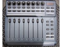 BEHRINGER BCF200 Audio/Midi Controller with motorised faders excellent condition