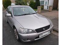 2004 Lexus IS200LE, 11 months MOT, 93,000 Miles, FSH