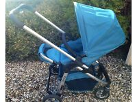 iCandy cherry pushchair complete with accessories