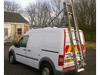 Ford connect lwb easi-load ladder rack(Bristor)
