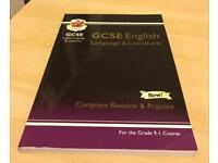 CGP GCSE ENGLISH LANGUAGE & LITERATURE BOOK