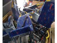 Free Mini Bus seats or Scrap metal.