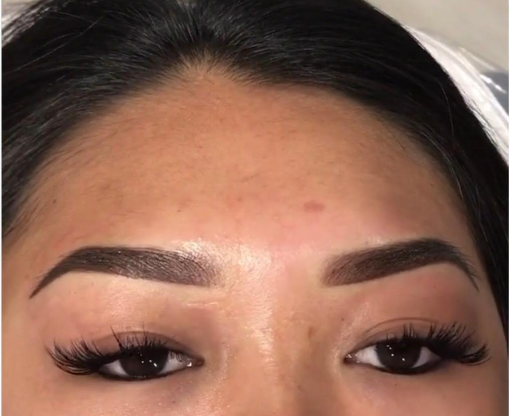 Eyebrow tattoo- ombré eyebrows- hair stroke- microblading- eyelash ...