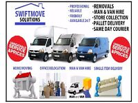 Removals / Man & Van Hire, Luton van with Tail lift, Home Moving, House Clearances, IKEA Delivery