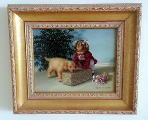 """Original Painting! NEW PRICE! """"The Gift"""" by Mary G. Smith"""