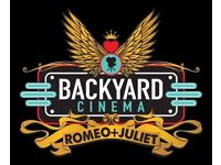 2 X Backyard Cinema presents Romeo and Juliet @ Union Chapel (London) tickets - SOLD OUT EVENT