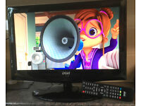 DGM ETV-1981w 19 inch Widescreen HD HDMI TV LED Backlit TV with Digital Freeview Television