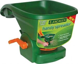 Evergreen Handy Lawn Feed Spreader Arm Support Easy To Use 5 Settings