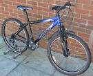 "17"" FRAME GIANT ROCK MOUNTAIN BIKE - SERVICED AND LOTS OF PARTS REPLACED - RIDES VERY WELL"